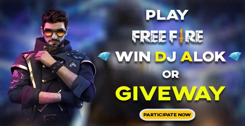 free fire dj alok and free fire dimand giveway on star war esports tournament app